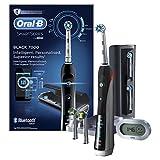 Oral-B SmartSeries 7000 elektrische Zahnbürste, mit Timer und fünf Aufsteckbürsten, schwarz