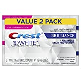 Crest 3D Brilliance Whitening, 8.2 oz (2 Pack - 4.2 oz each) by crest