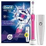 Oral-B Pro 7503DWhite Erwachsene Zahnbürste oszillierend Elektrische Zahnbürste (330g, 100mm, 178mm, 253mm, 490g, 1Stück (S))