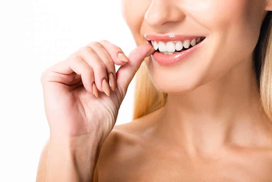 4 Tipps für weiße Zähne